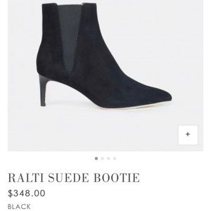RALTI SUEDE BOOTIE new condition